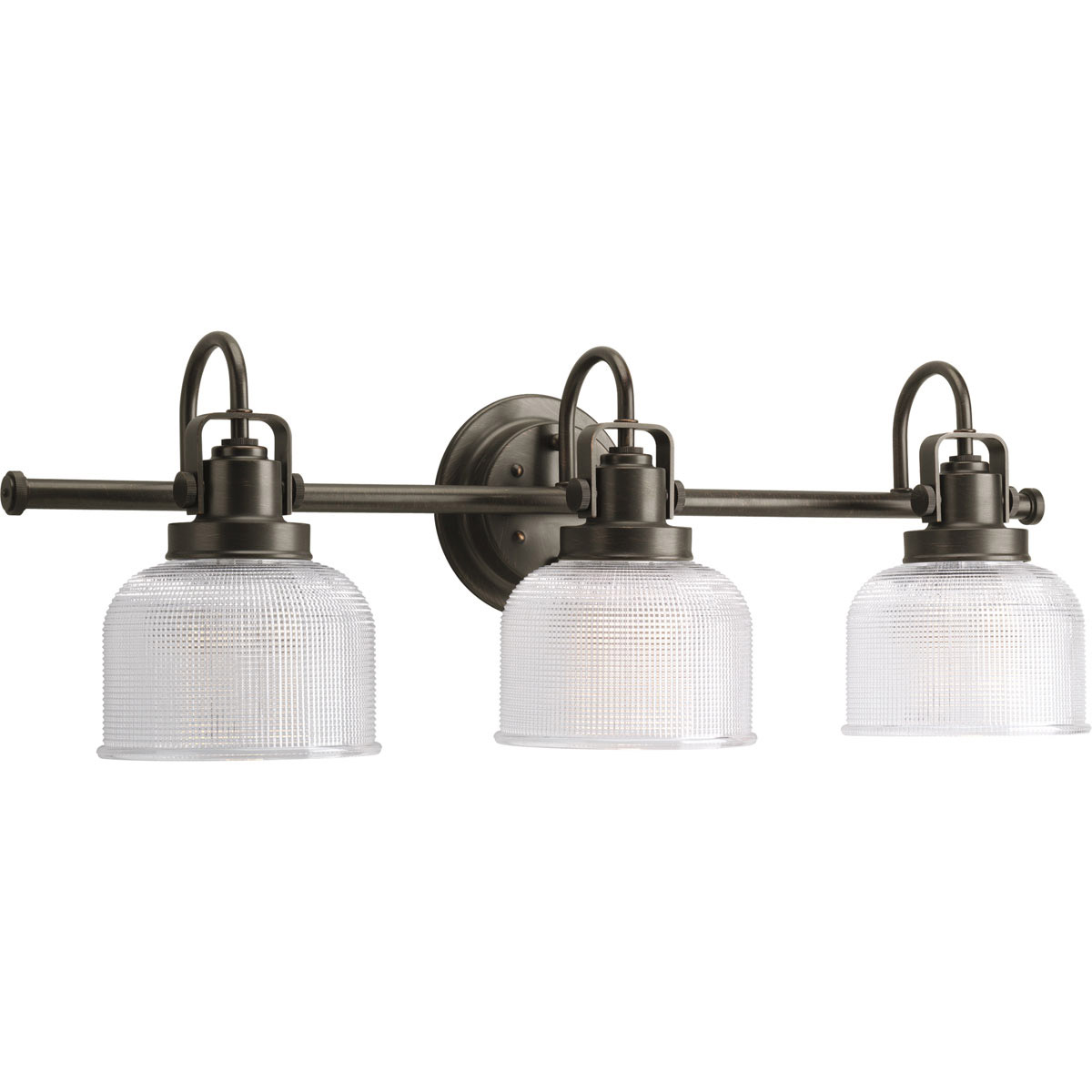Progress lighting p2992 74 archie vanity light for Bathroom vanity lights