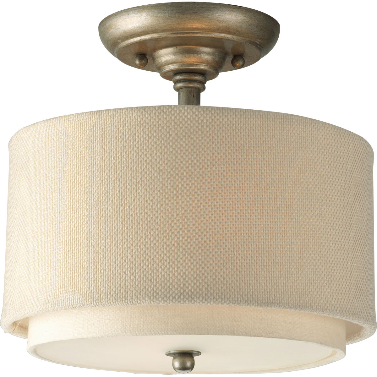 Progress Lighting P3886 134 Ashbury Semi Flush Ceiling Fixture