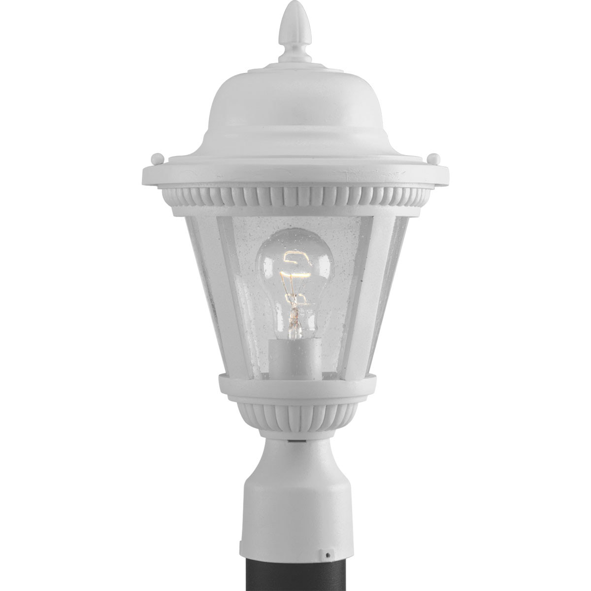 progress lighting p5445 30 westport outdoor post mount fixture