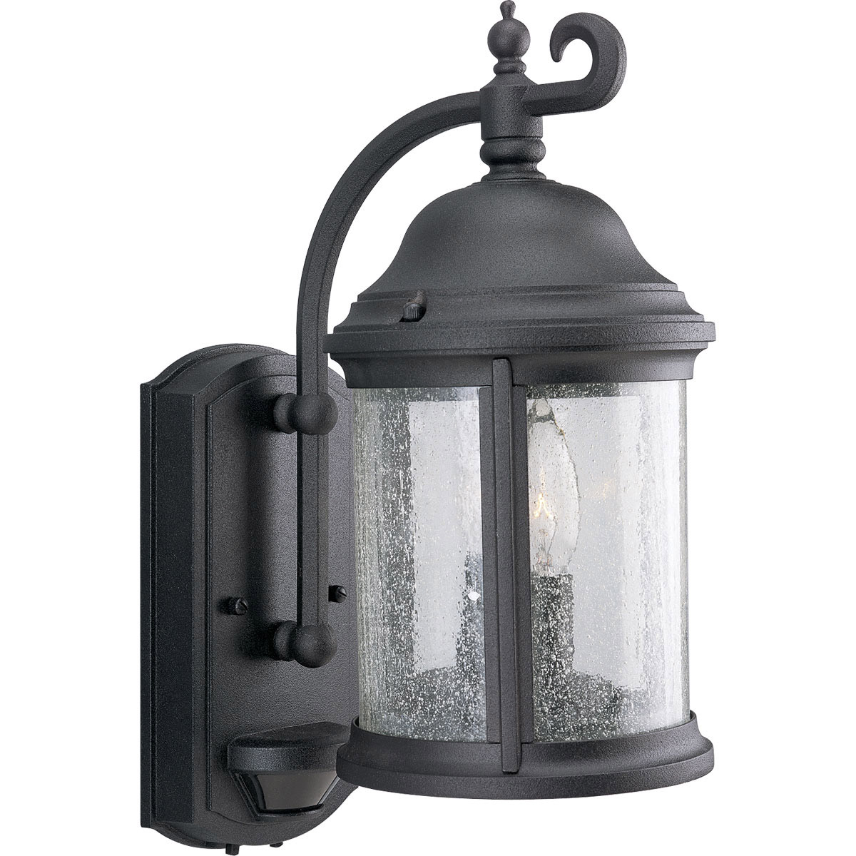 Outside Wall Lights With Sensor : Progress Lighting P5854-31 Motion Sensor Energy Efficient Outdoor Wall Mount Lantern