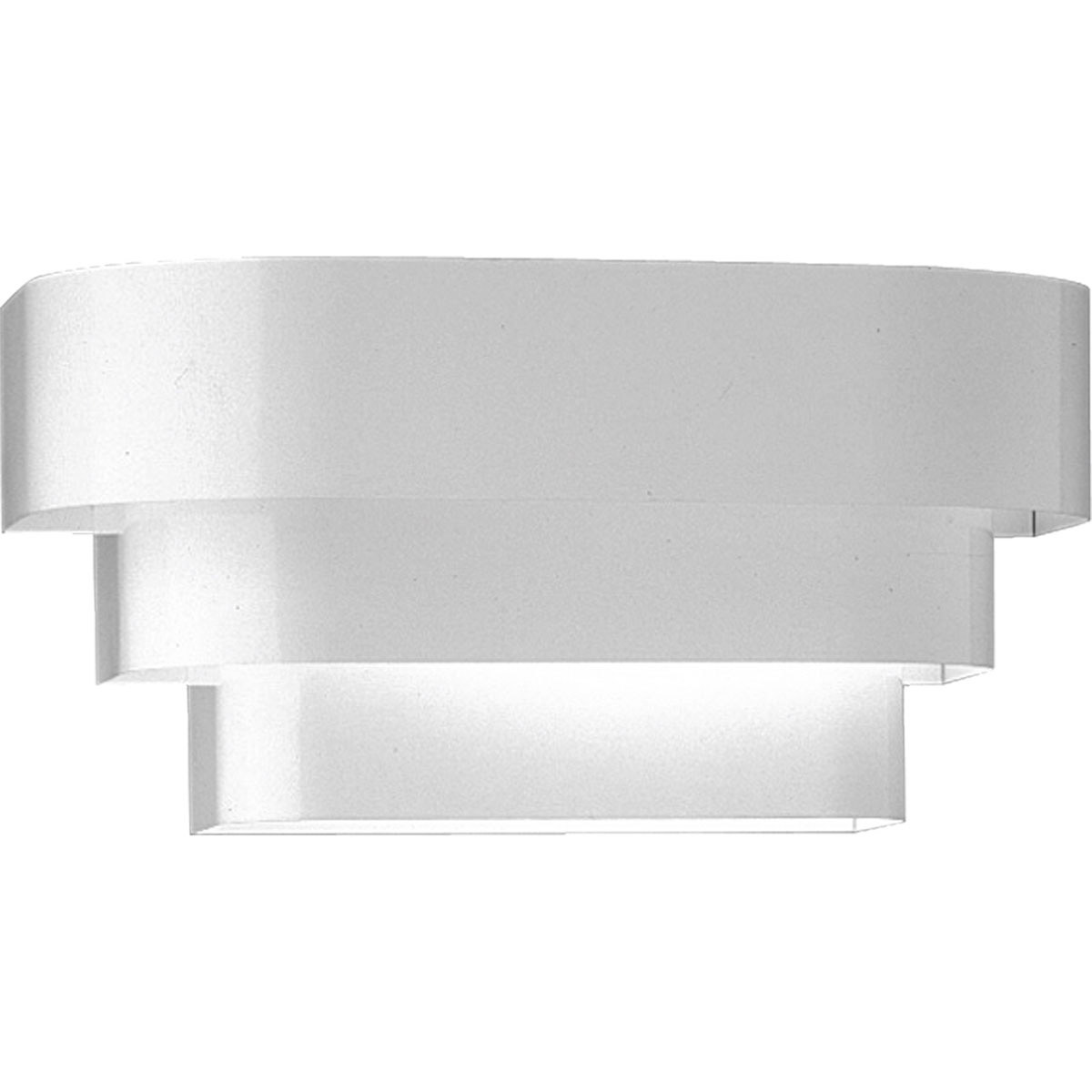 Progress Lighting P7103 30 Home Theater Tri Band Louver Wall Sconce