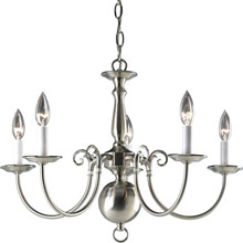 Progress Lighting P4346-09 Americana Five Light Chandelier
