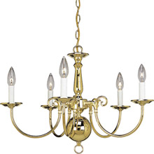 Progress Lighting P4346-10 Americana Five Light Chandelier