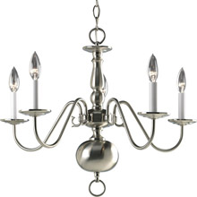 Progress Lighting P4355-09 Americana Five Light Chandelier