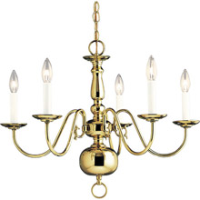 Progress Lighting P4355-10 Americana Five Light Chandelier