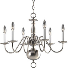 Progress Lighting P4356-09 Americana Six Light Chandelier