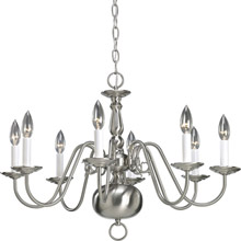 Progress Lighting P4357-09 Americana Eight Light Chandelier