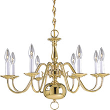 Progress Lighting P4357-10 Americana Eight-Light Chandelier
