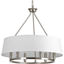Progress Lighting P4618-09 Cherish Six-Light Chandelier