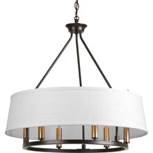 Progress Lighting P4618-20 Cherish Six-Light Chandelier
