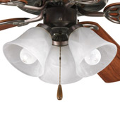 Transitional Air Pro Ceiling Fan Light Kit - Progress Lighting P2600-20