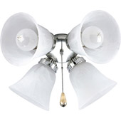 Contemporary Air Pro Ceiling Fan Light Kit - Progress Lighting P2610-09