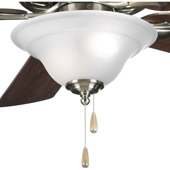 Transitional Trinity Ceiling Fan Light Kit - Progress Lighting P2628-09