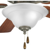 Transitional Trinity Ceiling Fan Light Kit - Progress Lighting P2628-20