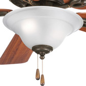 Transitional Trinity Ceiling Fan Light Kit - Progress Lighting P2628-77