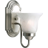 Transitional Builder Bath Wall Sconce - Progress Lighting P3051-09