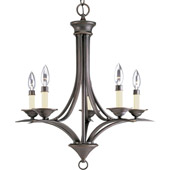 Transitional Trinity Five Light Chandelier - Progress Lighting P4327-20