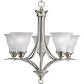 Transitional Trinity Five Light Chandelier - Progress Lighting P4328-09