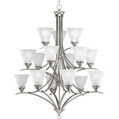 Transitional Trinity Fifteen Light Chandelier - Progress Lighting P4365-09