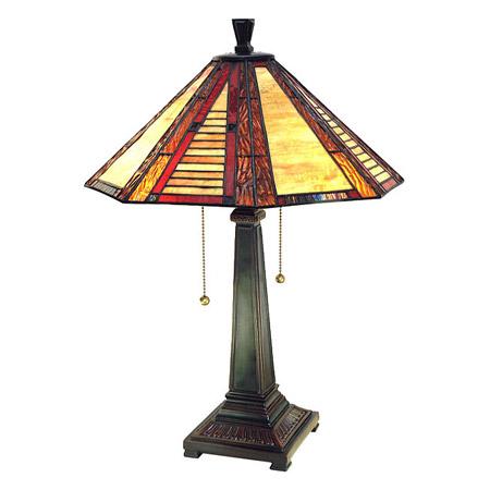 Paul Sahlin Tiffany 1614 Octagon Table Lamp