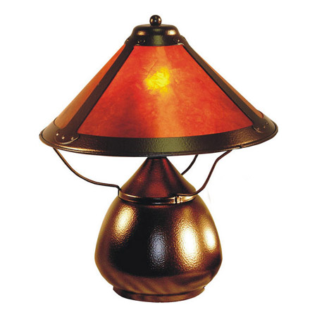 Paul Sahlin Tiffany 922 Mica Table Lamp