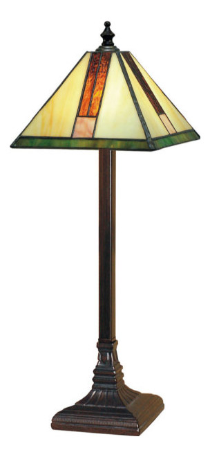 Paul Sahlin Tiffany 459 Simple T Accent Lamp