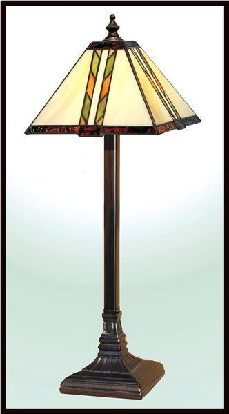 Paul Sahlin Tiffany 811 Diagonal Accent Lamp