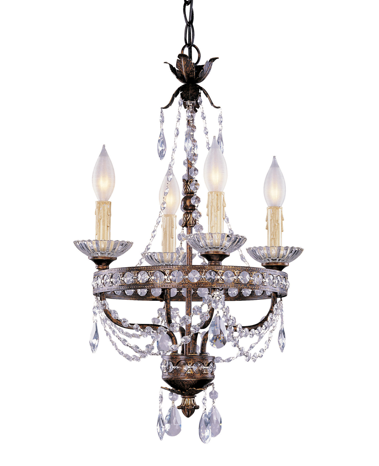 Savoy house 1 1043 4 8 crystal linda mini chandelier mozeypictures Gallery