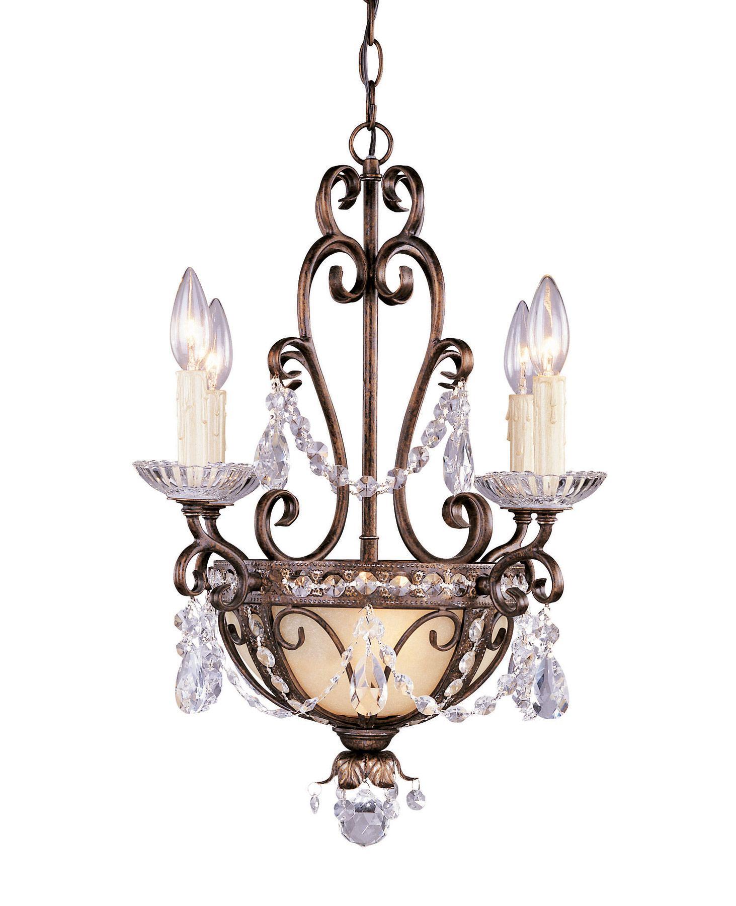 Savoy House 1 4505 4 8 Crystal Mini Chandeliers Six Light