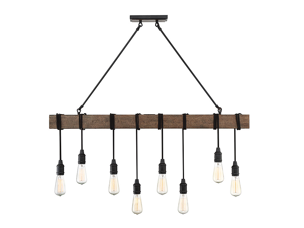 savoy house 1 990 8 41 burgess 8 light linear chandelier
