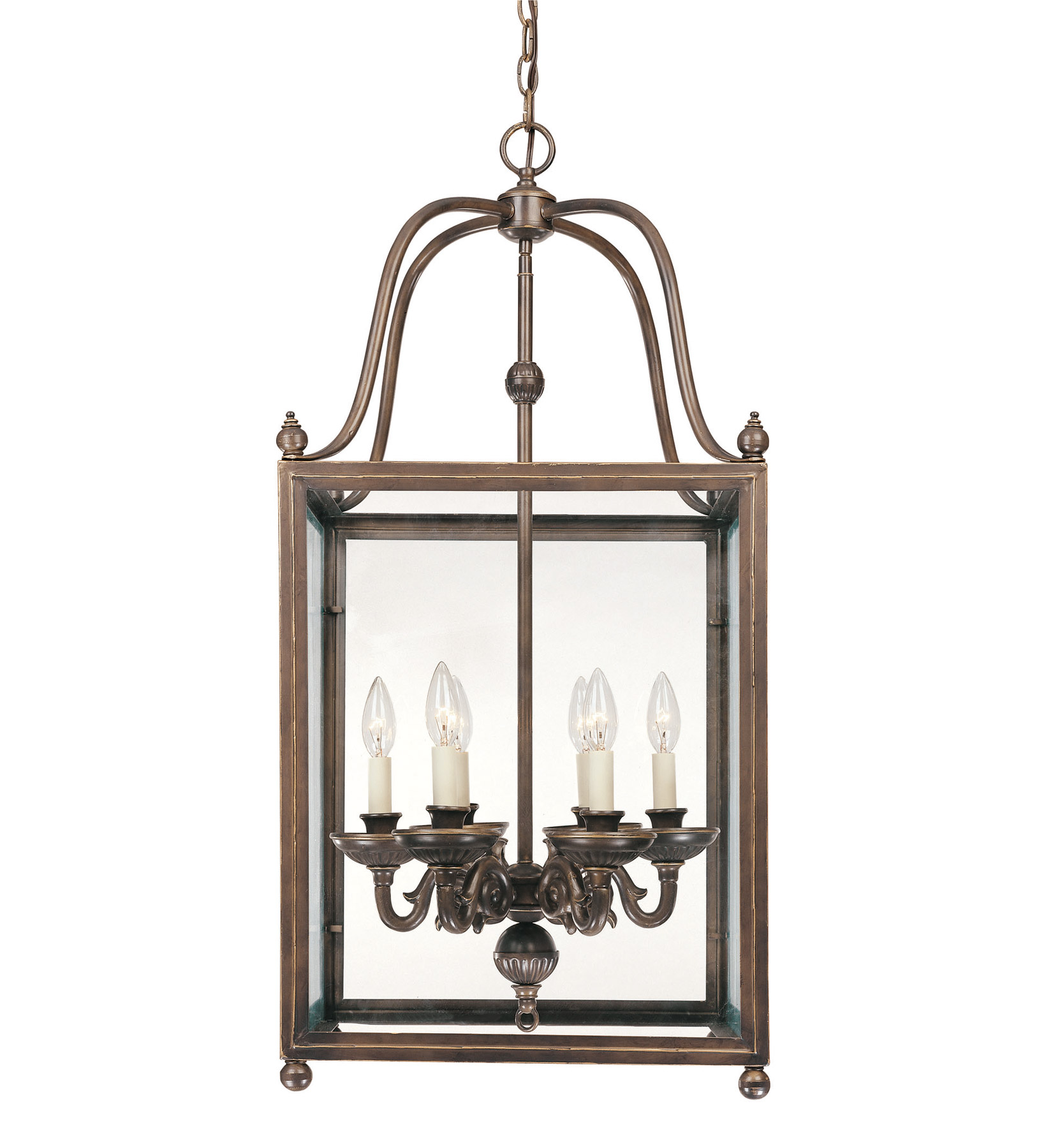Foyer Lighting Lantern : Savoy house crabapple lantern