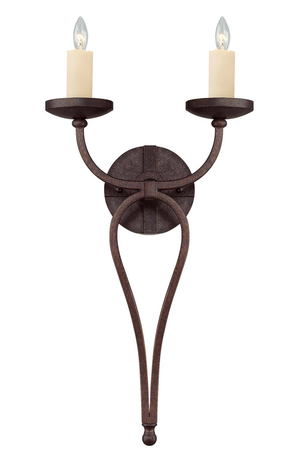Savoy House Elba Two Light Wall Sconce - Two light bathroom sconce