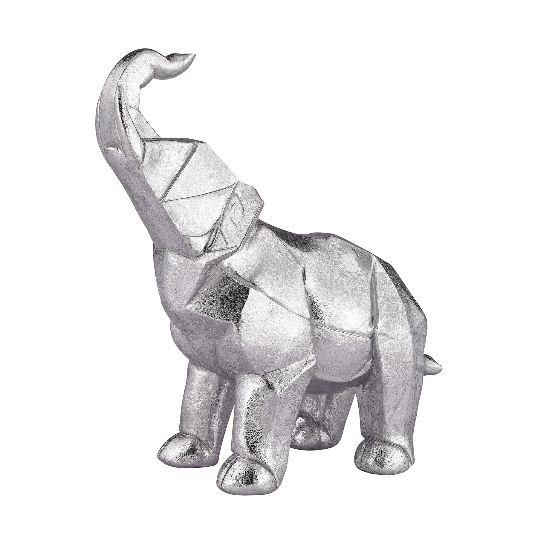 Sterling 3138 203 Origami Elephant Sculpture