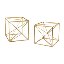 ELK Home 51-017/S2 Angular Study Decor (Set of 2)