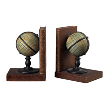 ELK Home 93-9224 Atlas Bookends (Pair)