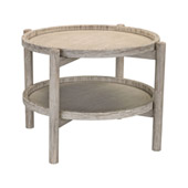 Driftwood Finish Side Table - ELK Home 3200-020