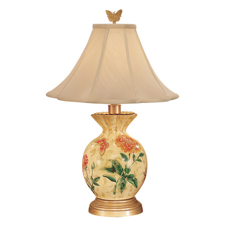 Wildwood 6614 Gathered Vase Table Lamp