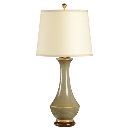 Wildwood 9409 Good Green Vase Table Lamp