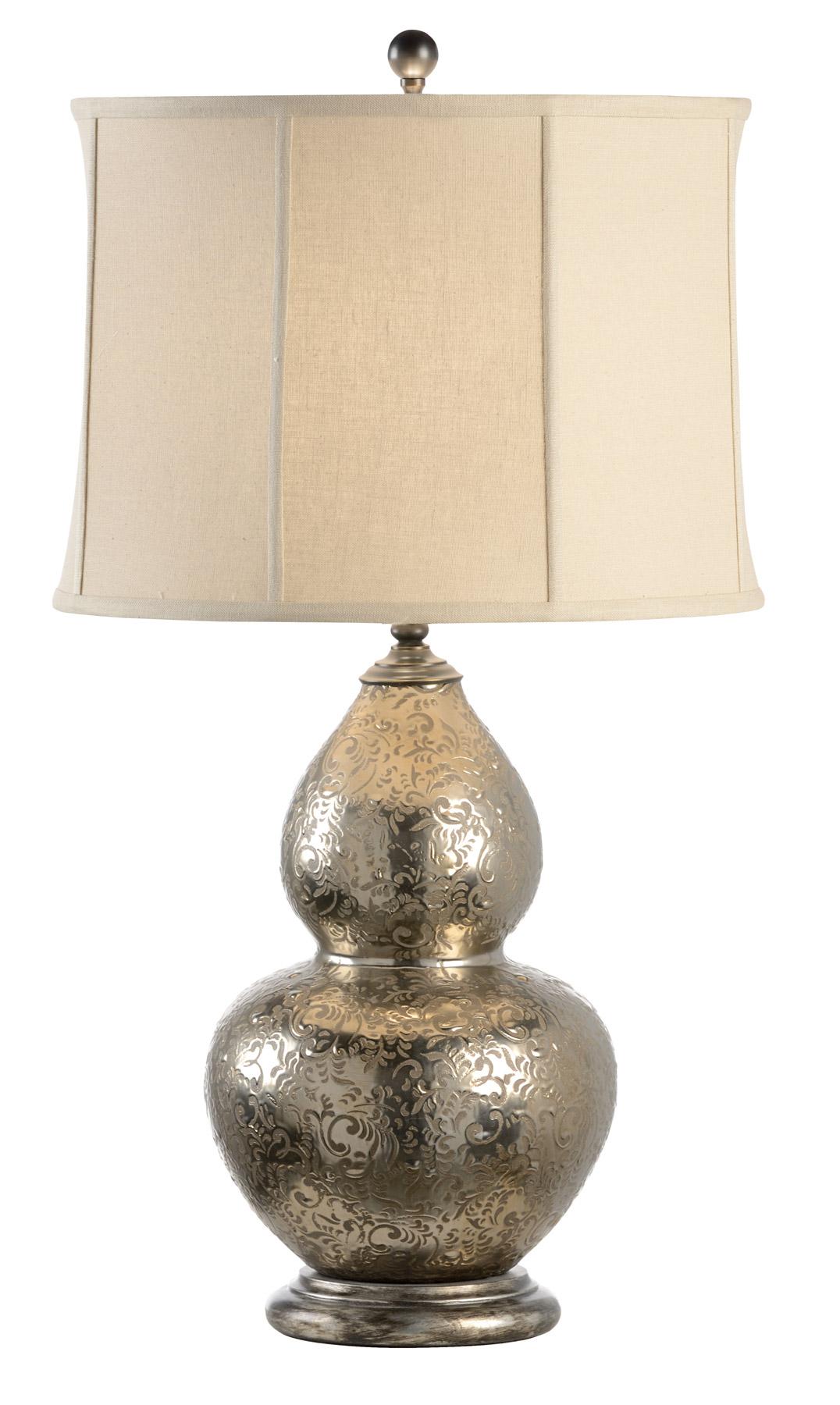 Green Gourd Lamp Wildwood 12516 Gourd Vase Table Lamp