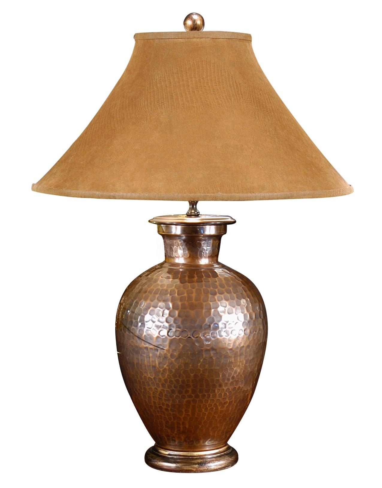 Wildwood 21087 Antique Copper Table Lamp