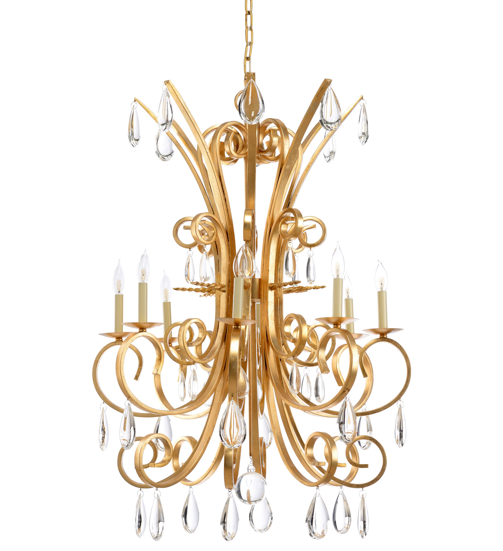 wildwood 23347 crystal grand stairs chandelier