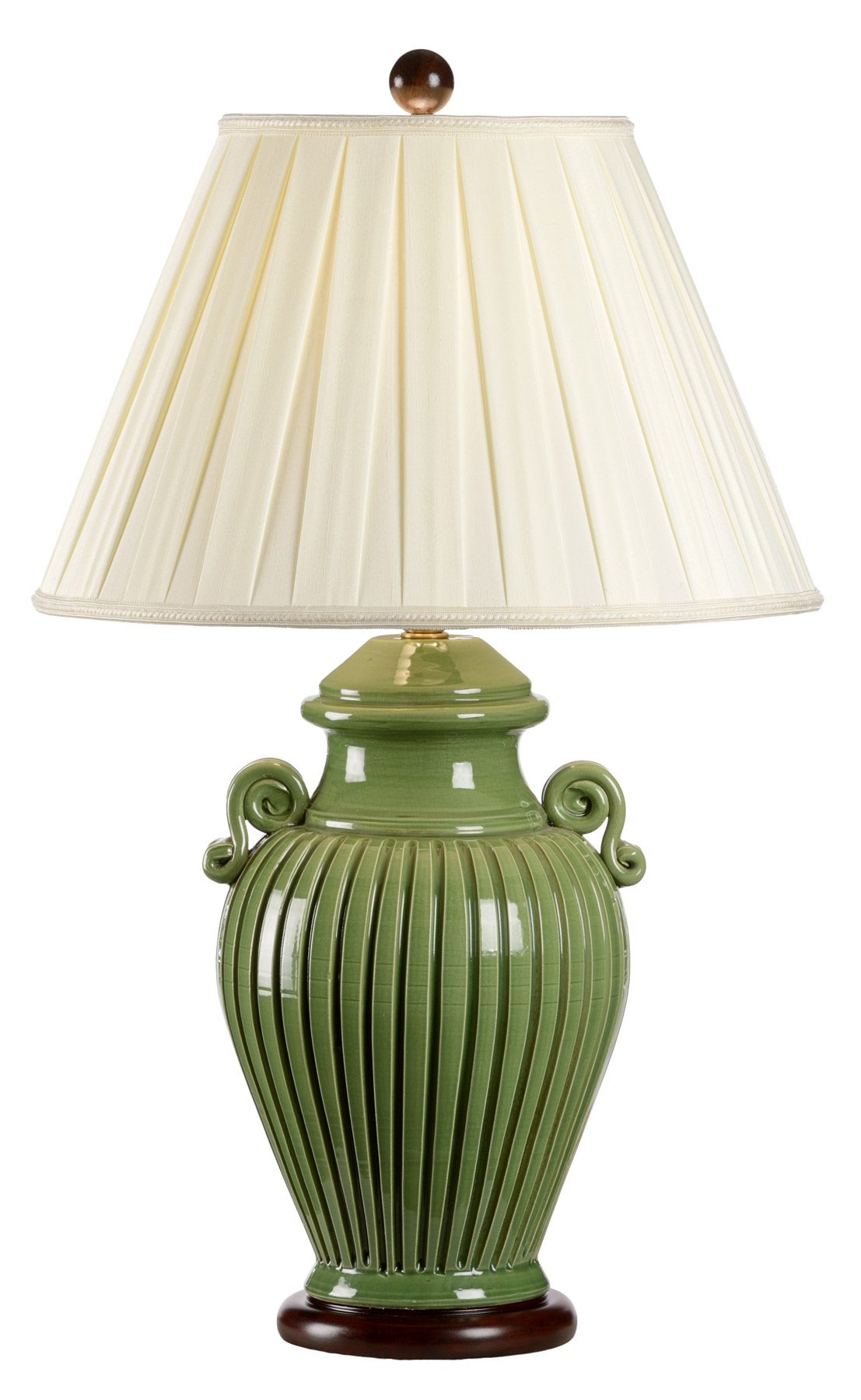 8706 fluted jar table lamp view larger image geotapseo Choice Image