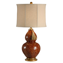 Wildwood 12504 Red Gourd Table Lamp
