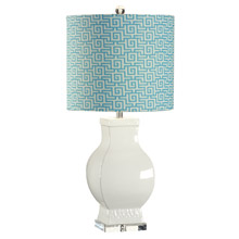 Wildwood 12554-2 Bordered Urn Table Lamp