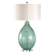 Wildwood 12556 Crinkle Texture Bottle Table Lamp
