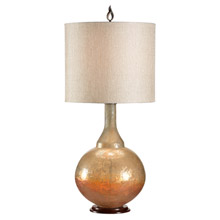 Wildwood 12566 Sunset Bottle Glass Table Lamp