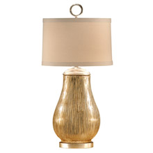 Wildwood 13101 Broom Finish Vase Table Lamp