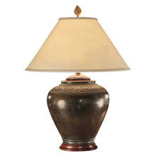 Wildwood 21018 Carved Neck Pot Table Lamp