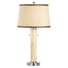 Wildwood 22209 Marble Column Table Lamp