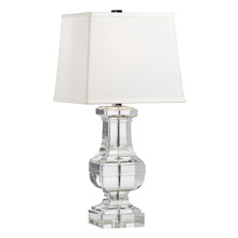 Wildwood 22233 Crystal Square Urn Table Lamp